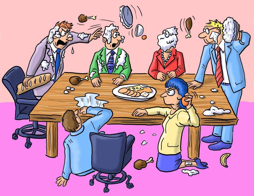 جلسه مدیریتی