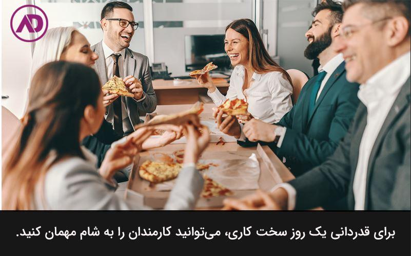 Appreciation of workers