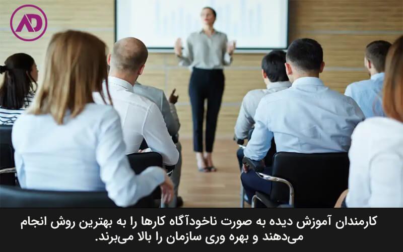 آموزش دادن به نیروی کار و سرمایه گذاری روی منابع انسانی